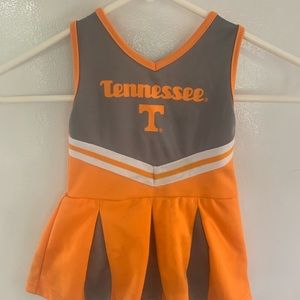 Toddler Tennessee Cheerleading Outfit 12m
